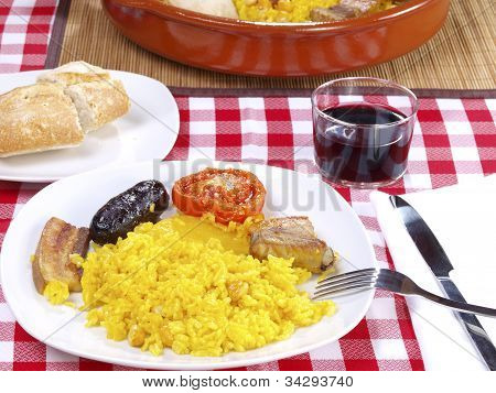 Arroz al Horno - Oven cooked rice