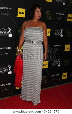 LOS ANGELES - JUN 23:  Crystal Chappell arrives at the 2012 Daytime Emmy Awards at Beverly Hilton Hotel on June 23, 2012 in Beverly Hills, CA