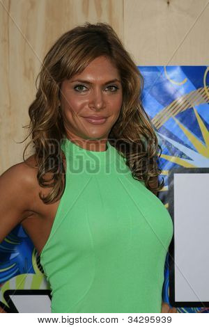 SANTA MONICA, CA - JUL 23: Ayda Field Fox Summer TCA Press Tour All Star Party at the Santa Monica Pier, Santa Monica, California on July 23, 2007