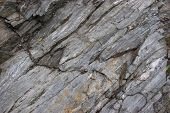 Image of unfinished granite mountain grey rock poster