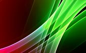 Colorful rendered fractal ( fantasy abstract background ) poster