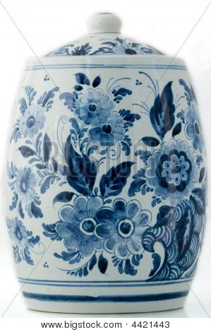 Delft Blue Pot
