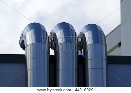 Pipes Of Ventilation