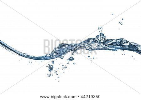 Splashing Water Waves