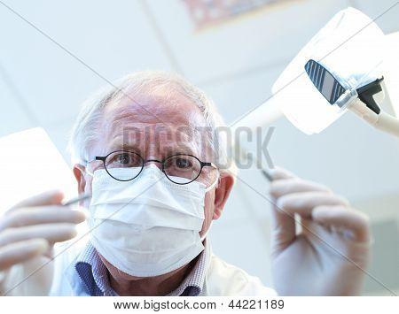 At Dentist's Office
