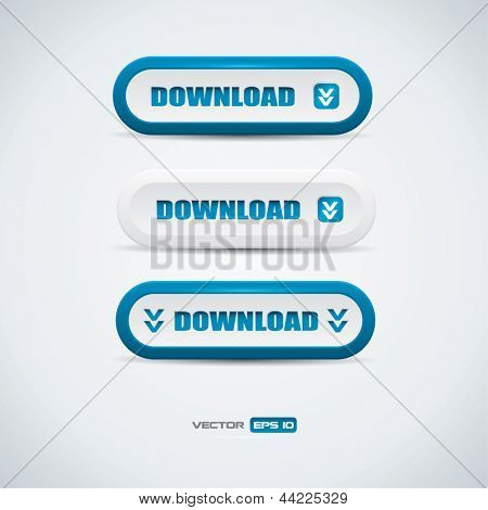 Download buttons - blue and white