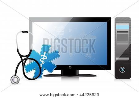 Medical App With A Computer