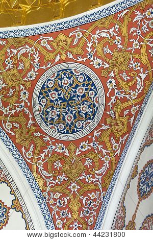 Detail of Topkapi Palace in Istanbul Turkey poster