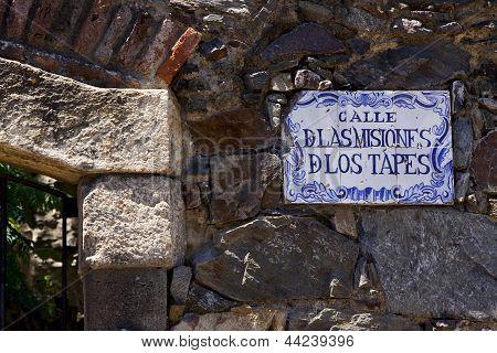 Calle De Las Misiones De Los Tapes