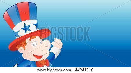 Cute Uncle Sam