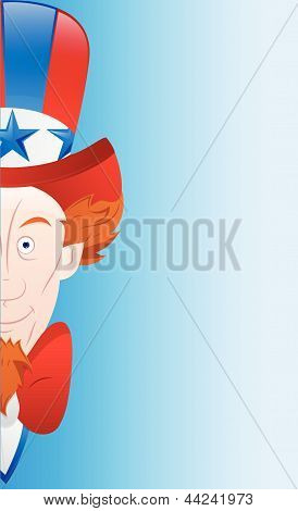 Happy 4th of July Vector Card