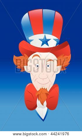 Vector Art of Uncle Sam