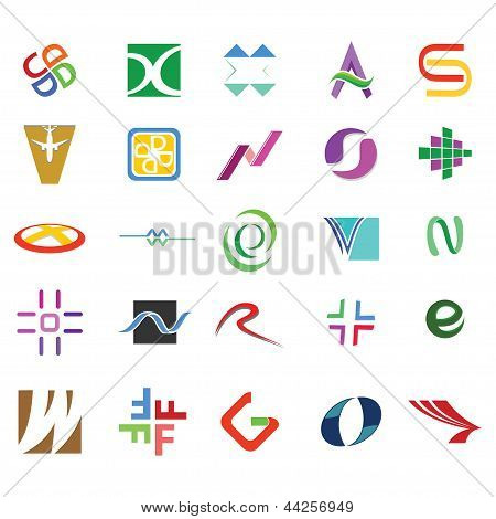 Abstract Icons & Symbols Pack