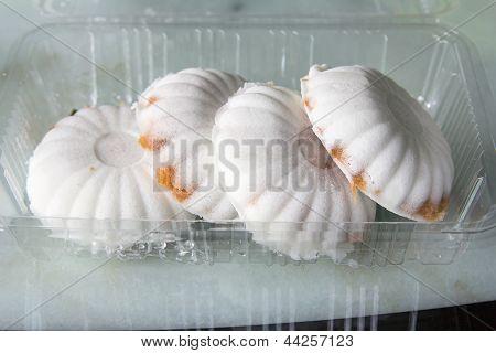 Kueh Tutu Steamed Rice Flour Dessert Snack poster