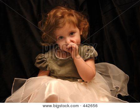 Princess Sucks Her Thumb