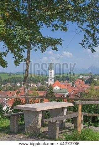 Nesselwang in Allgau,Bavaria,Germany
