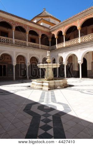 Fountain, Casa De Pilatos