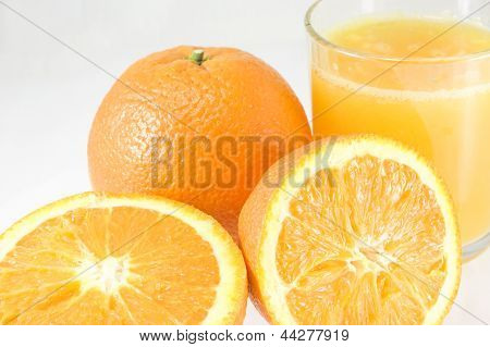 Oranges With Juice