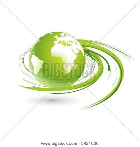 Swirl Globe