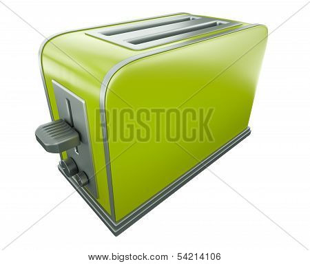 Green toaster