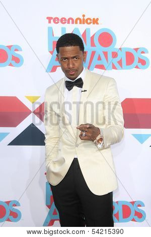 LOS ANGELES - NOV 17: Nick Cannon at the 5th Annual TeenNick HALO Awards at the Hollywood Palladium on November 17, 2013 in Los Angeles, California