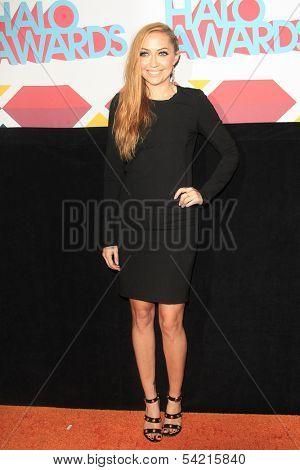 LOS ANGELES - NOV 17: Brandi Cyrus at the 5th Annual TeenNick HALO Awards at the Hollywood Palladium on November 17, 2013 in Los Angeles, California