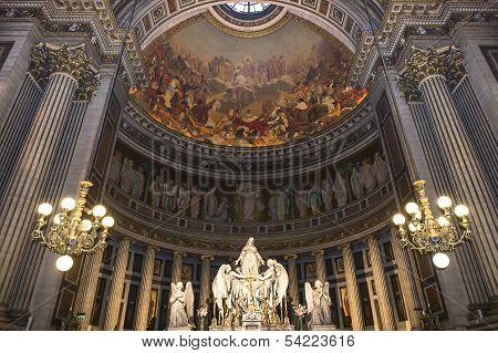 La Madeleine church, Paris, France