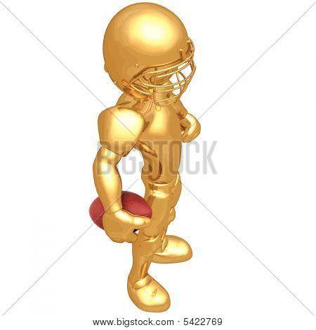3D Vector Football Player