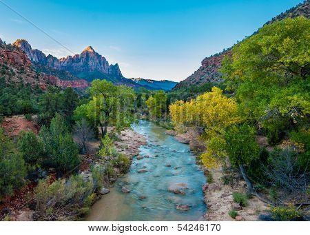Watchman, Zion National Park, UT
