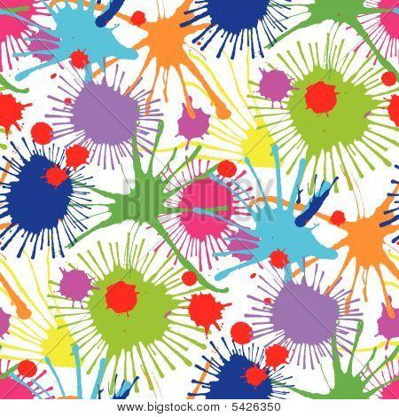 Seamless stain pattern