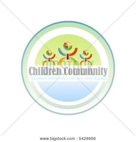 Community Children Symbol