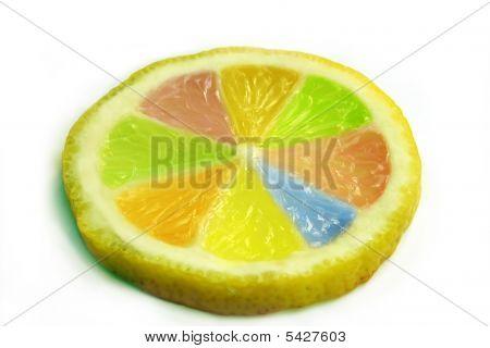 Lemon In Colours