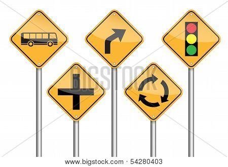 Road Sign Pole