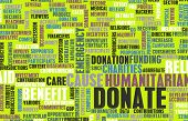 Donate for a Charity or Charitable Cause poster