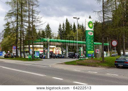 Bp Gas Station In Zakopane
