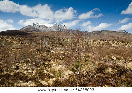 Snow Capped Sgurr Nan Fhir Duibhe