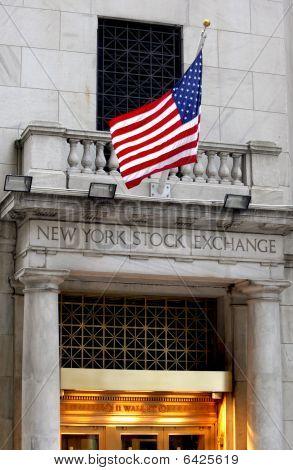 New York City Manhattan New York Stock Exchangee poster