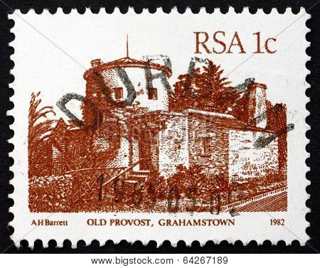 Postage Stamp South Africa 1984 Old Provost, Grahamstown