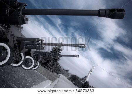 Artillery from the Second World War