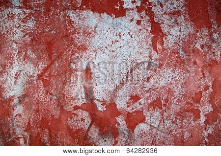 Wall Background In Red And Blue