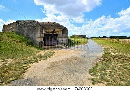 Normandy gun battery