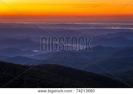 Blue Ridge Mountain Sunrise