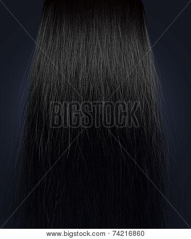 Black Hair Frizzy