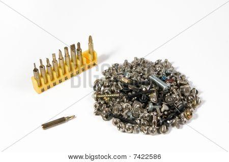 bits and screws