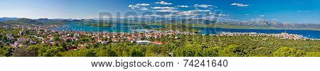 Croatian Islands Murter And Kornati Panoramic View