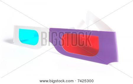 Glasses For The Volumetric Image