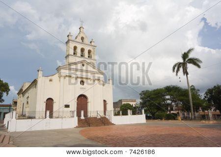Old Church With Three Bells In Santa Clara City (iv)