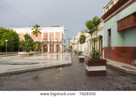 Cityscape Of Santa Clara City With Generic Architecture (i)