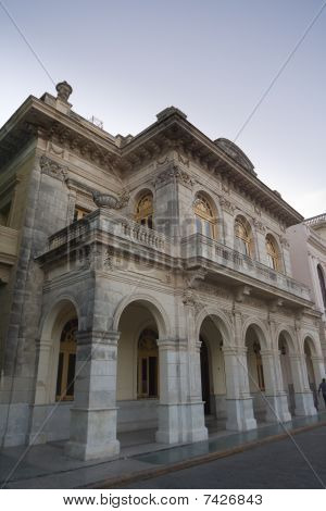 Classical Architecture Surrounding The Central Park Of Santa Clara (iii)