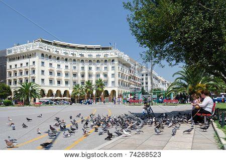 Greece, Thessaloniki, Aristotelous Square